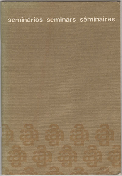 Mexico: n.p., 1976. First edition. Paper wrappers. Near fine copies with only a little rubbing at th...