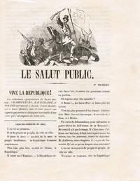 Le Salut public. Reproduction en fac-similé avec une préface de Fernand Vandérem.