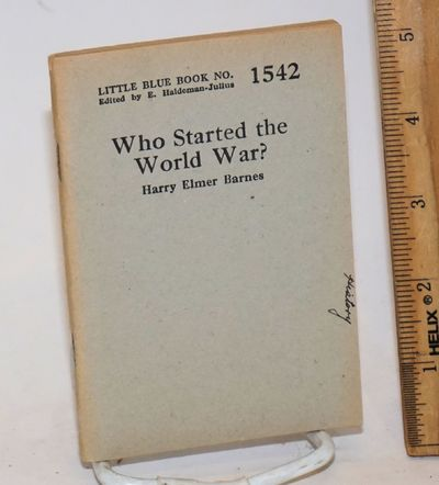 Girard, KS: Haldeman-Julius Publications, 1930. 64p., wraps, 3.5x5 inches,