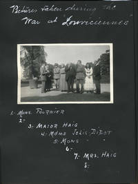 Photographic album of a pre-WWI tour in Europe and India, Kashmir & France, concluding during WWI at Louviciennes