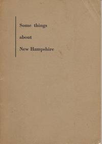 image of Some Things about New Hampshire