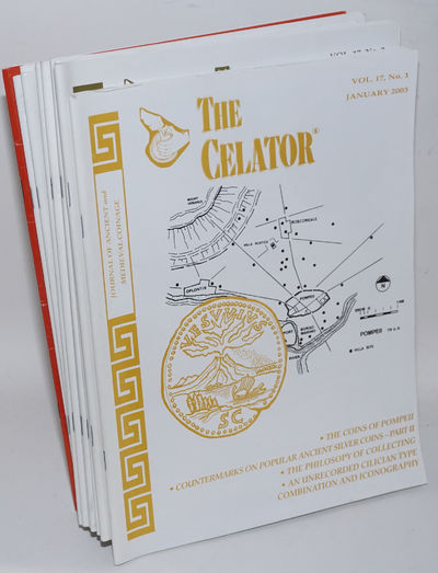 Lancaster, PA: the Celator, 2003. Twelve issues of the magazine devoted to classical numismatics. St...