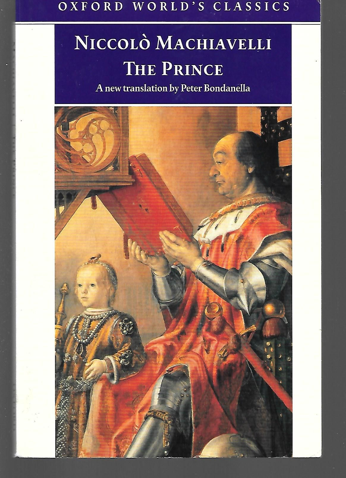 a plot summary of niccolo machiavellis book the prince Summary all principalities are governed either by a single ruler assisted by his   machiavelli discusses this theme in detail throughout the book, culminating in.