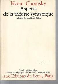Aspects de la théorie syntaxique