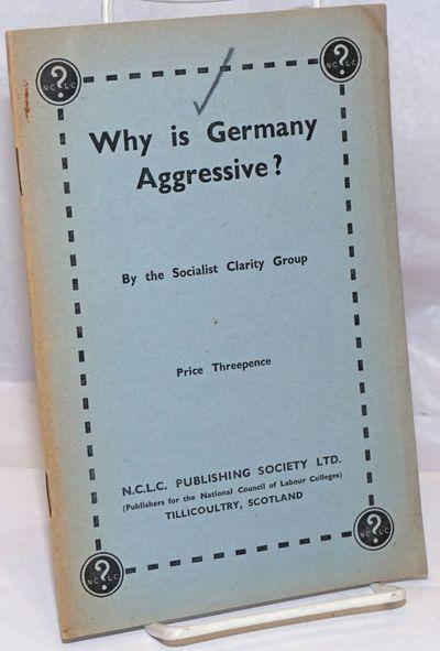 Tillicoultry, Scotland: N.C.L.C. Publishing Society Ltd, 1941. 16p., stapled wraps, 5.5 x 8.25 inche...