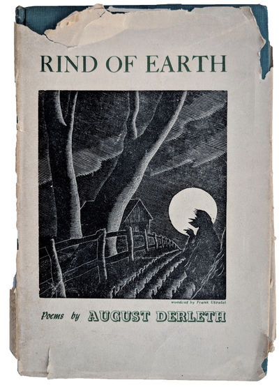 Prairie City, IL:: James A. Decker, 1942., 1942. 8vo. 148 pp. Green gilt-stamped cloth; jacket a rem...