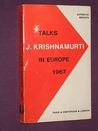 Talks in Europe 1967
