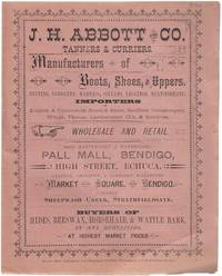 J. H. Abbott and Co. Tanners & Curriers.
