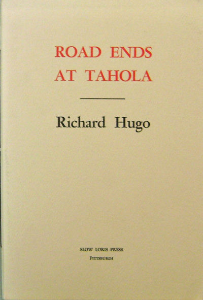 Pittsburgh: Slow Loris Press, 1978. First edition. Paperback. Near Fine. 8vo. A 28 pp poetry chapboo...