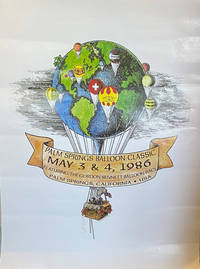 image of Hot Air Balloon Posters (Collection of 2): Palm Springs Balloon Classic May 3 & 4, 1986; and, Gordon Bennett Balloon Race, Mile Square Park, Fountain Valley, California, May 8, 1982 (2 copies)