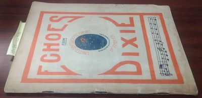 Portsmouth, VA: United Confederate Choirs of America, 1911. Quarto; good+/wraps; deeply sunned white...