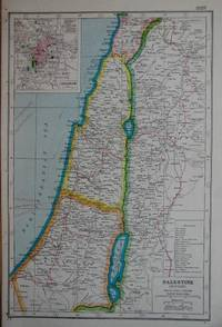 Palestine (Modern). by Map - from N. G. Lawrie Books. (SKU: 28722)