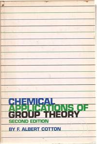 image of Chemical Applications of Group Theory