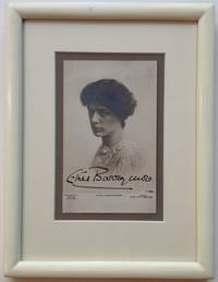 Framed Signed Photo-postcard by  Ethel (1879 - 1959) BARRYMORE - Signed - 1905 - from Argosy Book Store (SKU: 255135)