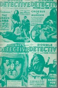 image of THE GREEN LAMA: Double Detective: April. Apr. 1940 (reprint: Pulp Classics #14