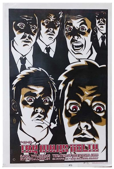 2003. Very good +. Large format poster , with light edge-wear. From the artist's website-