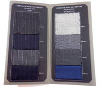 image of American Woolen Company: In-Stock Collection. Fabric Swatch Sample Book