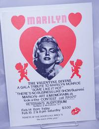 image of Marilyn: the Valentine Divine; a gala tribute to Marilyn Monroe