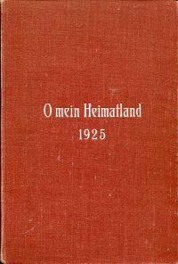 O mein Heimatland 1925.