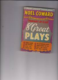 """image of Tonight at 8:30"""" 8 Great Plays by Coward, Noel"""
