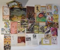 Archive of Original Folk Art Watercolor Paintings