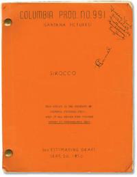 image of Sirocco (Original screenplay for the 1951 film noir)