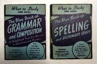 image of 1944 Blue Book Grammar & Composition & Blue Book Spelling & Dictionary Study