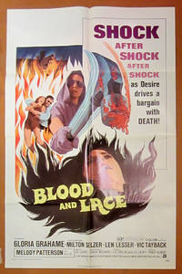 Blood and Lace- Original Folded One Sheet Movie Poster(1971)