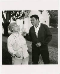 Original photograph of Muhammad Ali, circa 1990s