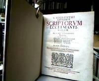 S. Hieronymi catalogus scriptorum ecclesiasticorum : seu De viris illustribus liber cum notis...