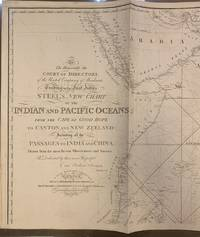 To The Honourable the Court of Directors of the United Company of Merchants Trading to the East Indies, Steel's New Chart of the Indian and Pacific Oceans;; from the Cape of Good Hope to Canton and New Zeeland: Including all the Passage to India and China