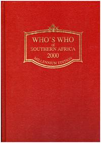 WHO'S WHO IN SOUTHERN AFRICA 2000