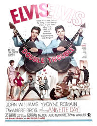 image of Elvis Presley Double Trouble U.S. One Sheet Film Poster 1967