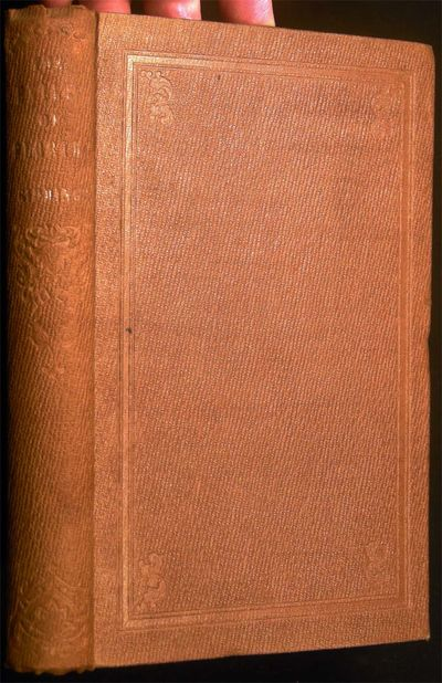 Columbus, Ohio: Follett, Foster and Company, 1858. viii + 338 pages; frontispiece illustration woodc...