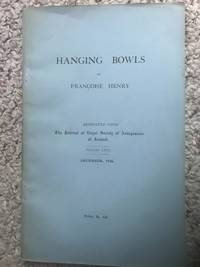 Hanging Bowls By Francoise Henry  The Journal Of The Royal Society of Antiquaries Volume LXVI December 1936