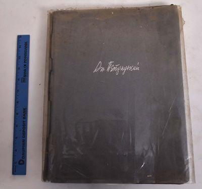 Staatsverlag der Ukraine, 1929. Spine paper broken along entire front outer hinge; dampstain on uppe...