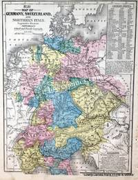 No 23. Map of Germany, Switzerland and Northern Italy