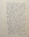 View Image 2 of 2 for Lengthy Autographed Letter Signed on personal stationery Inventory #249716