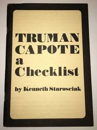 TRUMAN CAPOTE. A Checklist