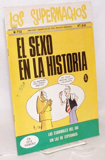 Mexico: Editorial Meridiano, 1979. Comic. 34p., 7.25x10.5 inches, color comic book in Spanish, price...