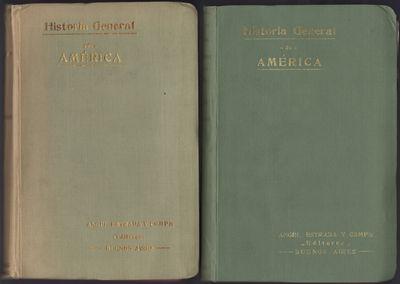 Buenos Aires: Angel Estrada y Comp., 1913. First edition. Limp cloth. Very good copies, boards rubbe...
