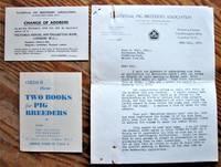 image of National Pig Breeders' Association. Ephemera From 1935