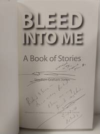 Bleed Into Me: A Book Of Stories (Native Storiers: A  Series Of American Narratives) (Signed)