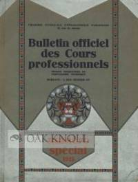 Paris: Chambre Syndicale Typographique Parisienne, 1925. stiff paper wrappers. 4to. stiff paper wrap...