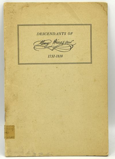 Louisville, Ky: J. P. Morton, 1925. Stapled Pamphlet. Very Good binding. 8vo.; the publisher's stapl...