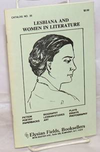image of Lesbiana and Women in Literature: catalog # 35