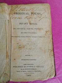 ORIGINAL POEMS FOR INFANT MINDS [VOLUME 1 ONLY]