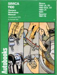 image of Simca 1100 1967-76 Autobook (The autobook series of workshop manuals)