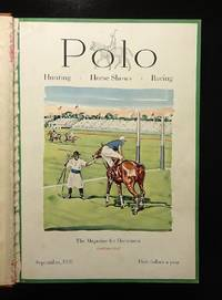 POLO Magazine - 1931 & 1932, Volume VI with 8 Bound Issues