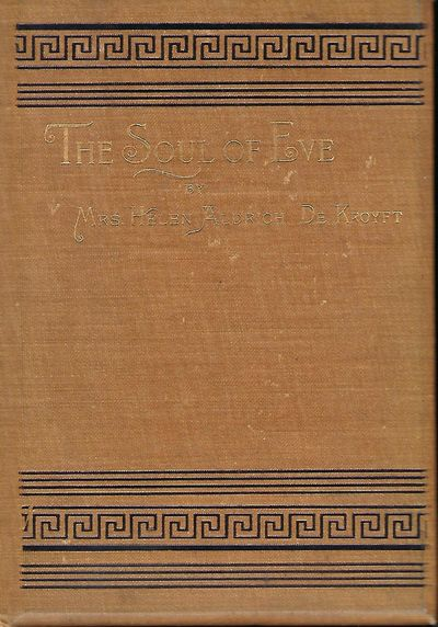 NY: Published By The Author, 1905. First Edition. Signed by De Kroyft on the half-title page. With